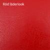 Röd läderlook