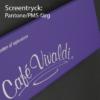 Screentryck: pantone/PMS-färg